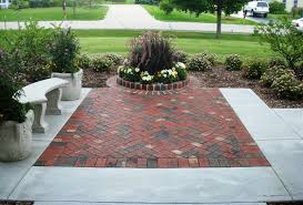 Concrete Patio Color Ideas by Fair Brick And Concrete Patio For Interior Home Paint Color Ideas