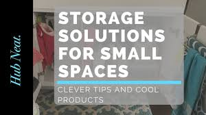 Storage Solutions For Small Bedrooms by Storage Solutions For Small Spaces Youtube