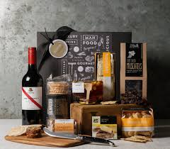 food gift sets cheeseboard celebration premium wine and food gift set
