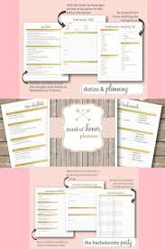 of honor planner planner for the of honor weddingday list organizer