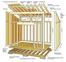 backyard sheds plans how to build backyard shed lean to shed plans floor foundation wall