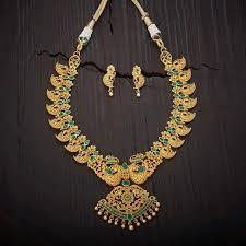 antique necklace images Antique necklace 76803 kushal 39 s fashion jewellery jpg