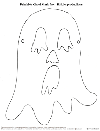 10 best images of printable emmett mask ghost halloween mask