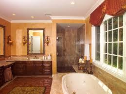 relaxation ready traditional master bath warm bathroom design