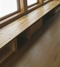 custom made reclaimed built in bench window seating