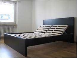 malm bed stylish malm bed frame high black brown m73 in interior decor home