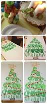 family hand print christmas tree canvass more family hand prints