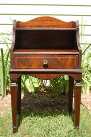 Antique Accent Table Antique Huntley Simmons Mahogany Telephone Table Antique Mahogany