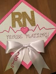 Rn Cap Decorations Templates Nursing Graduation Cap Pinterest Also