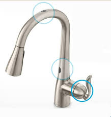 motionsense kitchen faucet motionsense kitchen faucet moen touchless at faucet warehouse