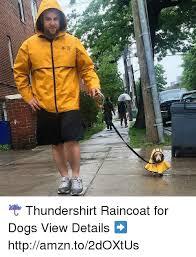 Yellow Raincoat Girl Meme - jy thundershirt raincoat for dogs view details