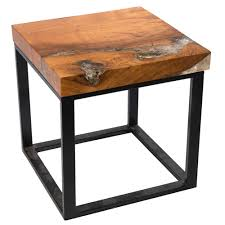 Teak Side Table Teak Root And Resin Side Table Cr 2021 A I R E