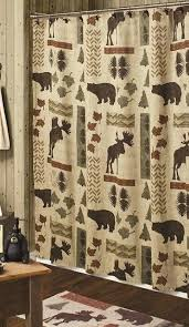 Curtain Place Trend Of Cabin Shower Curtains And Adirondack Shower Curtain Cabin