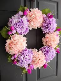 wreaths by homehearthgarden etsy com spring lavender u0026 pink