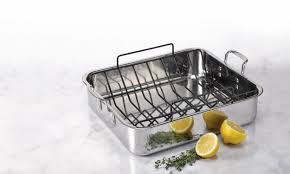Overstock Bakers Rack 5 Steps For Correctly Using A Roasting Pan Overstock Com