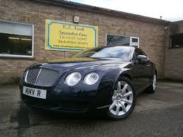 bentley continental gtc used blue bentley continental gt for sale suffolk