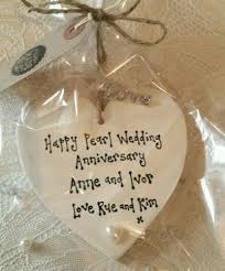 wedding anniversary gift the 25 best pearl wedding anniversary gifts ideas on