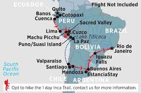 Map Of Peru South America by South America Tours U0026 Travel Peregrine Adventures Us