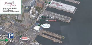 Mass Pike Exits Map Boston Flower U0026 Garden Show Directions U0026 Parking