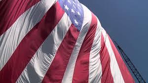 giant flag flies high over williamsport wnep com