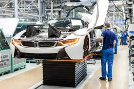 bmw car plant production process of bmw i8