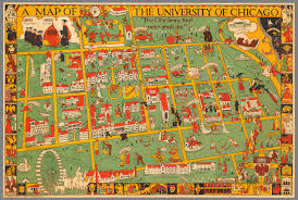 Chicago City Map by Putting It All On The Map The University Of Chicago Magazine