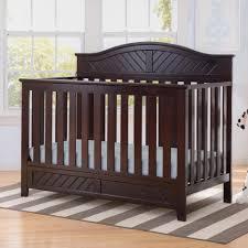 Delta Convertible Crib by Delta Children Bennington Elite Curved 4 In 1 Convertible Crib