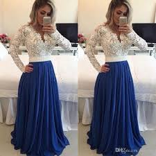 brazilian style long evening dresses with long sleeves lace beaded