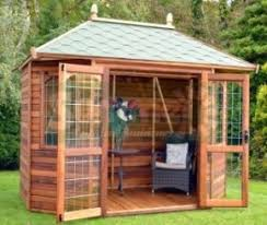 Summer Garden Houses - summer houses greenhouses garden sheds and log cabins