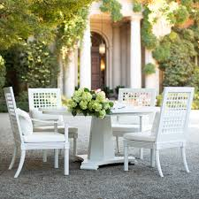 White Patio Dining Table And Chairs with Exterior Design Fill Your Patio With Janus Et Cie Outdoor
