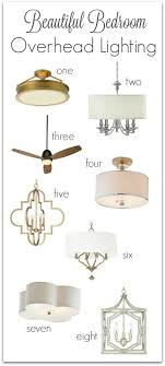 Overhead Bedroom Lighting Bedroom Lighting Guide Some Favorite Fixtures Chandelier