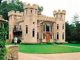 small castle style home plans