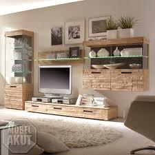 Wohnzimmer Modern Eiche Wohnwand Massiv Eiche Spannend Auf Wohnzimmer Ideen Auch Modern 10
