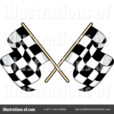 Checkered Flag Eps Checkered Flag Clipart 1235834 Illustration By Vector Tradition Sm