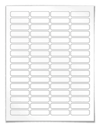 return address labels for laser and inkjet printing
