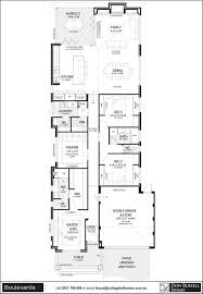 9 narrow block home designs single storey house plans for wide