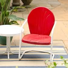 bellaire retro metal lawn chair garden furniture gardener u0027s edge