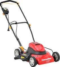 lawn mower grass catcher bag homelite 18 in corded electric mower