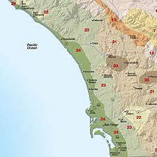 Climate Zones For Gardening - climate zones san diego region gardens plants and drought tolerant