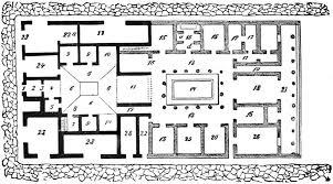 roman insula floor plan roman villa floor plan home design ideas and pictures