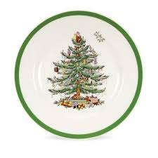 spode tree set of 4 salad plates spode usa