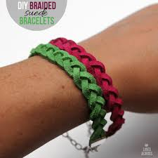 braided bracelet diy images Diy braided suede bracelets lines across png