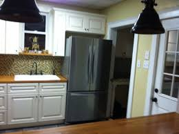 charleston antique white rta cabinets remodeling by lily ann