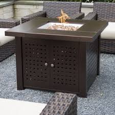 Patio Table With Built In Heater Fire Pit Tables