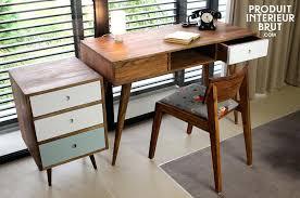 bureaux vintage bureau vintage scandinave 6 tiroirs annaces 50 style bim a co