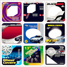 universal car paint color wheel covers bicolor car wheel cover