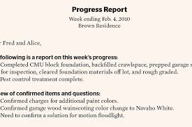 Construction Progress Report Template Free by Sle Progress Report Weekly Construction Progress Report