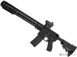 emg sai gry ar 15 gas blowback training rifle w jailbrake model