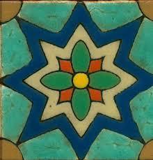 spanish pool fountain tile patterns