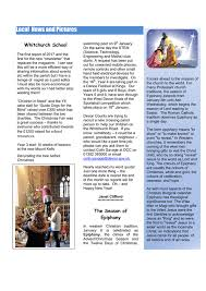 Charities For The Blind Newsletter St Andrews U0026 St James Whitchurch